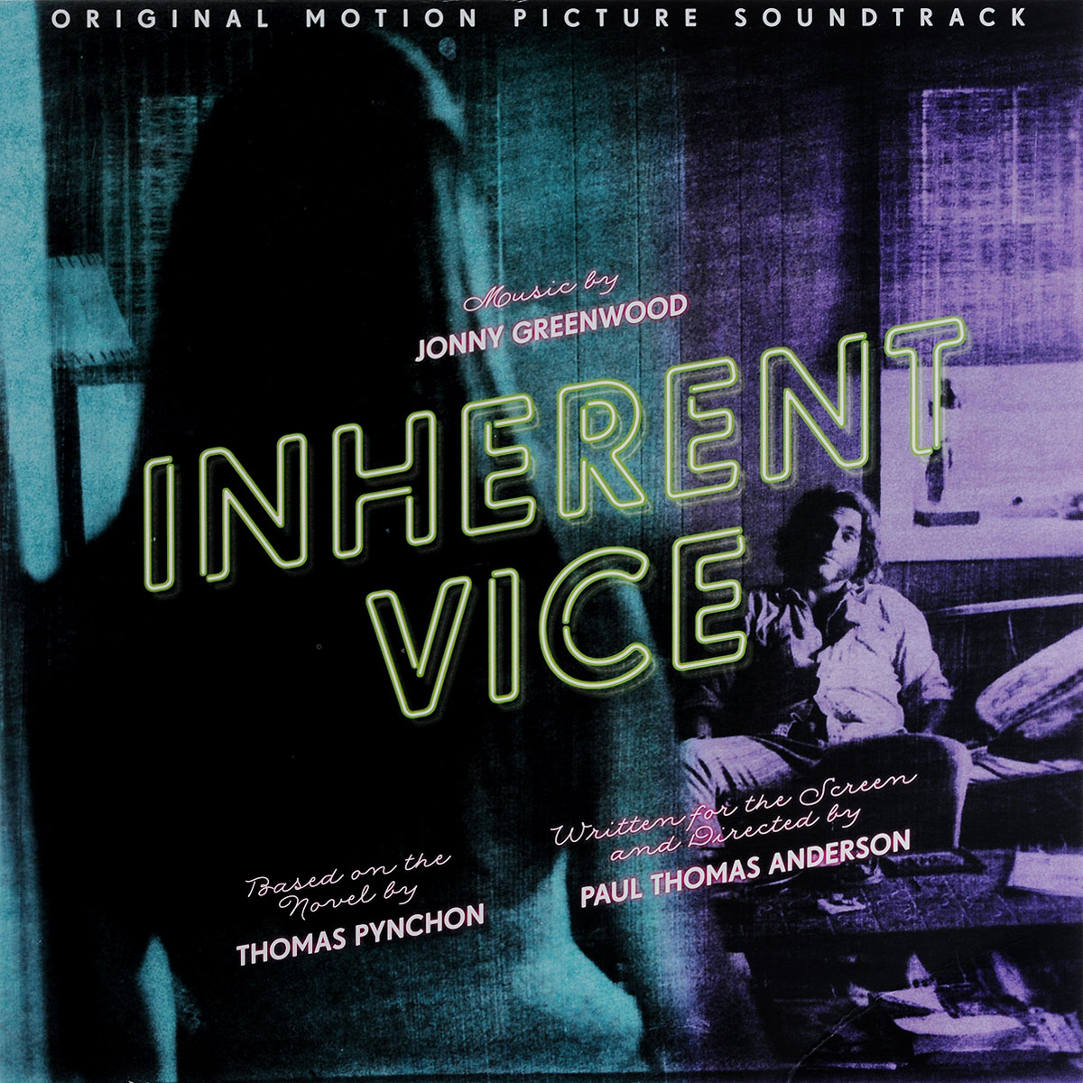 Jonny Greenwood. Inherent Vice. Original Motion Picture Soundtrack (2 LP) lp a640c