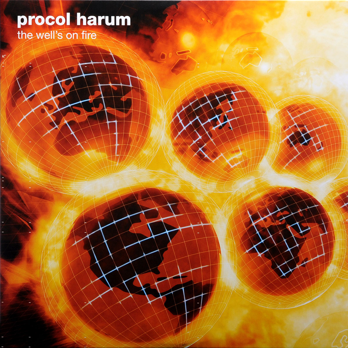 Procol Harum Procol Harum. The Well'S On Fire (2 LP) cd hugh laurie let them talk