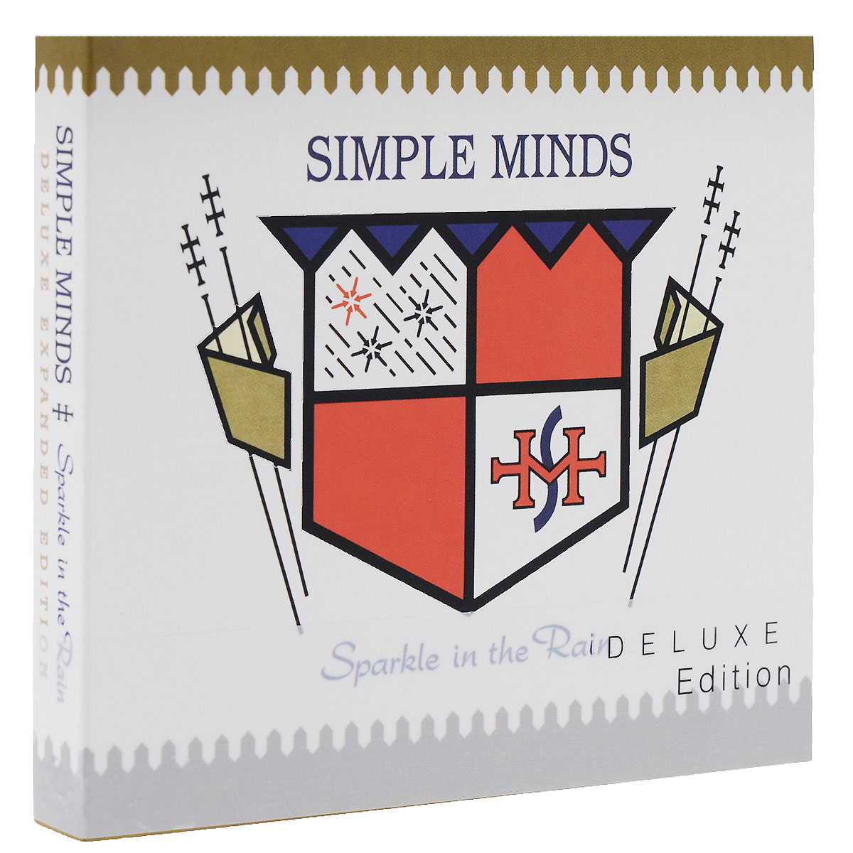 Simple Minds Simple Minds. Sparkle In The Rain. Deluxe Edition (2 CD) deluxe continental furniture handle drawer wardrobe door simple small red amber