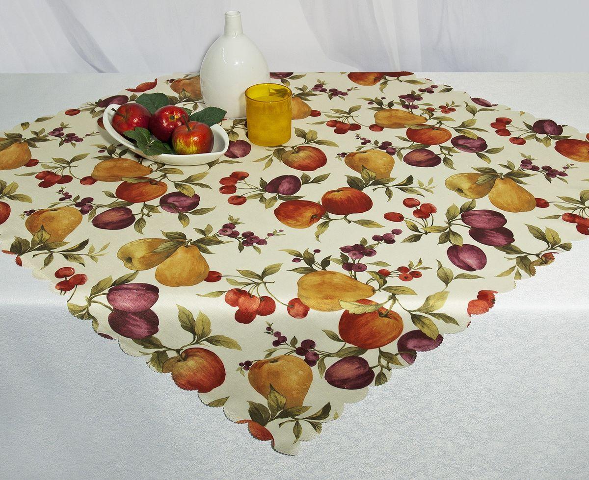 Скатерть Schaefer, прямоугольная, рисунок: фрукты, 130x 220 см. D1990-435-03D1990-435-03Скатерть Schaefer выполнена из высококачественного полиэстера и оформлена изображениями фруктов.Изделия из полиэстера легко стирать: они не мнутся, не садятся и быстро сохнут, они более долговечны, чем изделия из натуральных волокон. Скатерть Schaefer не останется без внимания ваших гостей, а вас будет ежедневно радовать оригинальным дизайном и несравненным качеством.Немецкая компания Schaefer создана в 1921 году. На протяжении всего времени существования она создает уникальные коллекции домашнего текстиля для гостиных, спален, кухонь и ванных комнат. Дизайнерские идеи немецких художников компании Schaefer воплощаются в текстильных изделиях, которые сделают ваш дом красивее и уютнее и не останутся незамеченными вашими гостями. Дарите себе и близким красоту каждый день! Изысканный текстиль от немецкой компании Schaefer - это красота, стиль и уют в вашем доме.