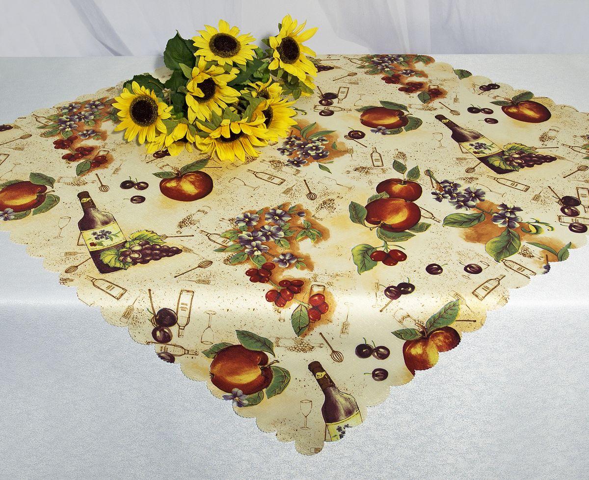 Скатерть Schaefer, прямоугольная, рисунок: вино, 130 x 220 см. D1990-435-02 скатерть schaefer прямоугольная 135 x 170 см 07107 402
