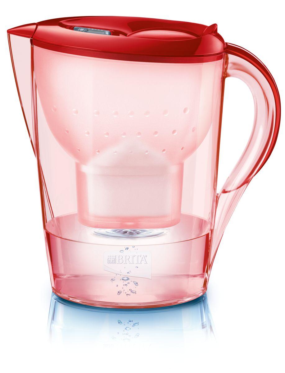 Фильтр-кувшин для воды Brita  Color Edition XL , цвет: алый, 3,5 л - Фильтры для воды