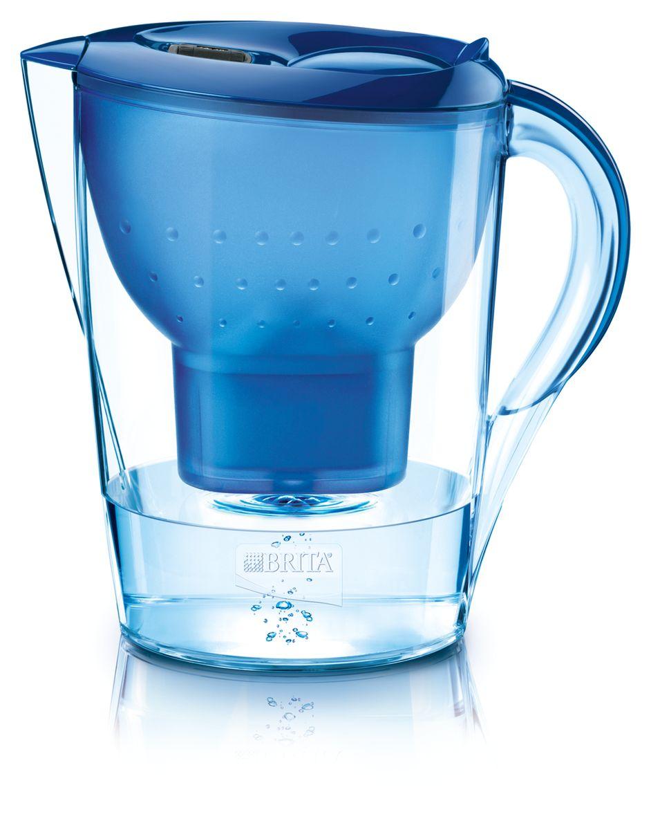 Фильтр-кувшин для воды Brita  Marella XL , цвет: синий, 3,5 л - Фильтры для воды