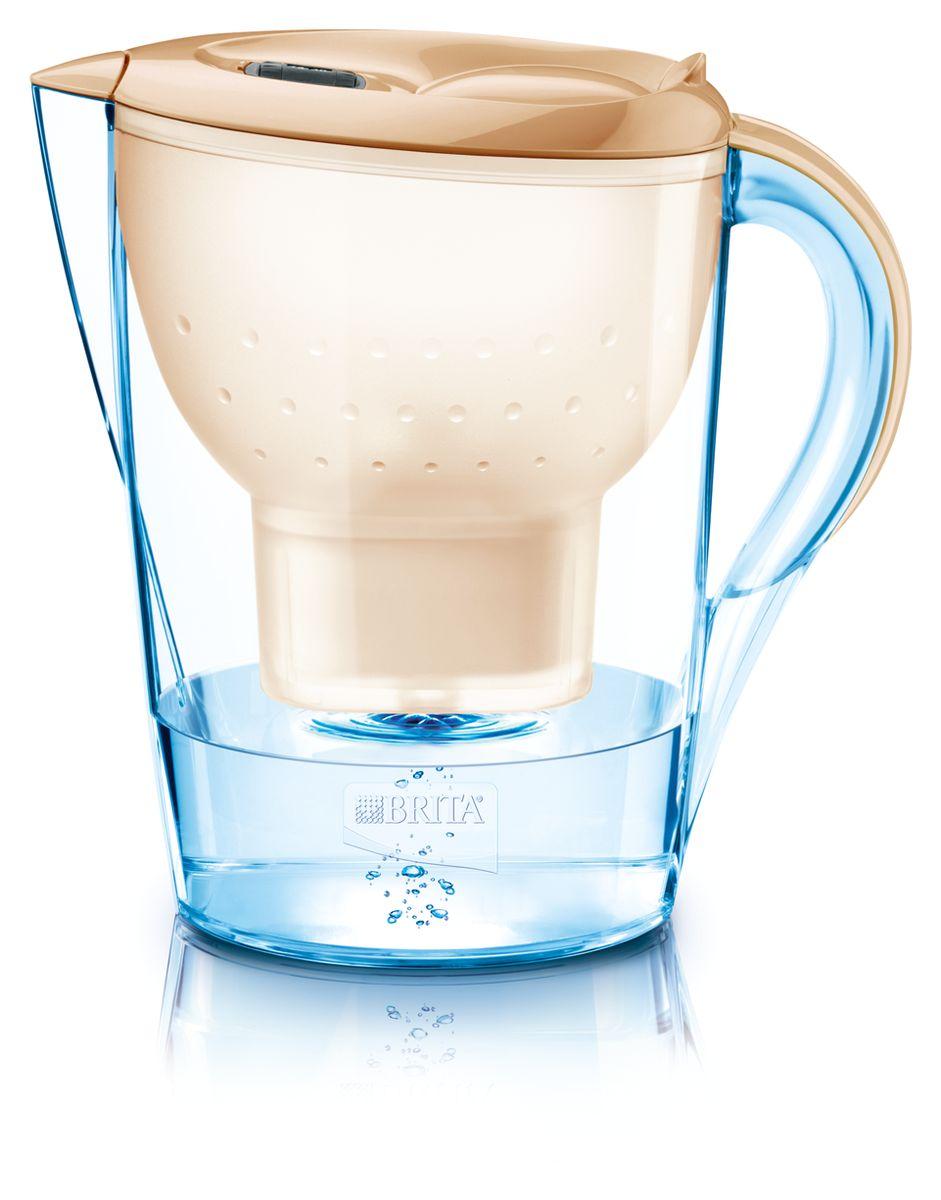 Фильтр-кувшин для воды Brita  Marella XL , цвет: капучино, 3,5 л - Фильтры для воды