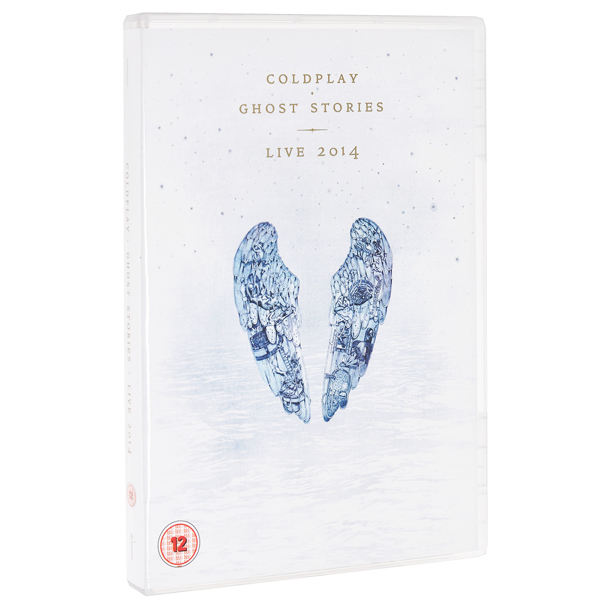 Coldplay. Ghost Stories. Live 2014 (DVD + CD) coldplay a head full of dreams cd