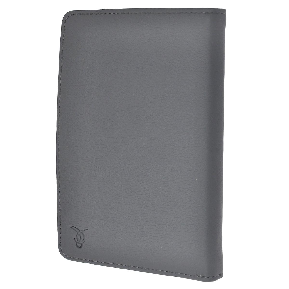 Vivacase кожаный чехол-обложка для PocketBook 641/640/631/626/625/624/623/622/615/614, Grey