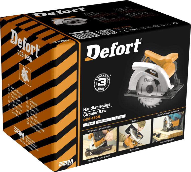 Пила циркулярная Defort DCS-165N dcs 7010l цена