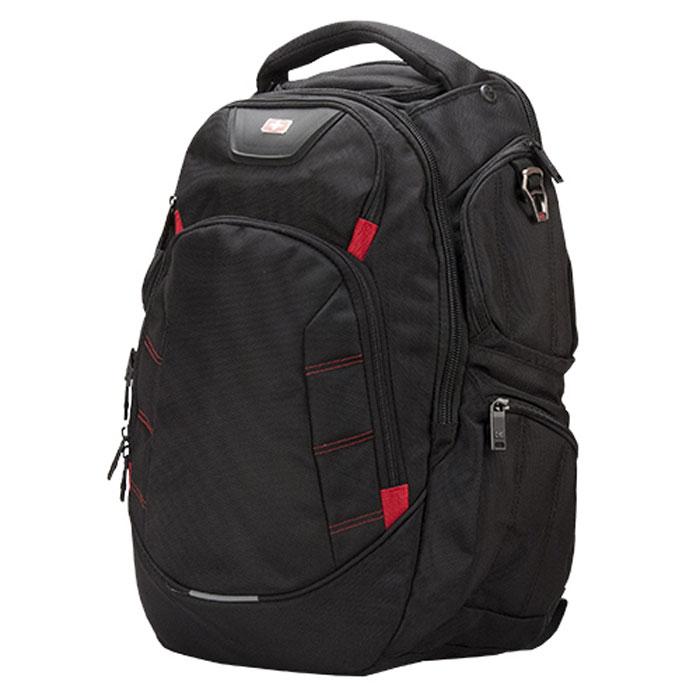 Continent BP-303, Black рюкзак для ноутбука 15,6BP-303 BKСтильный и удобный рюкзак Continent BP-303 для ноутбука 15.6 дюймов имеет прочную застежку для надежного хранения, удобные плечевые ремни и дополнительные карманы для документов, для блока питания, для ручки, для мобильного телефона, карабин для ключей, для плеера, для бутылки, для планшета, кабель для наушников.