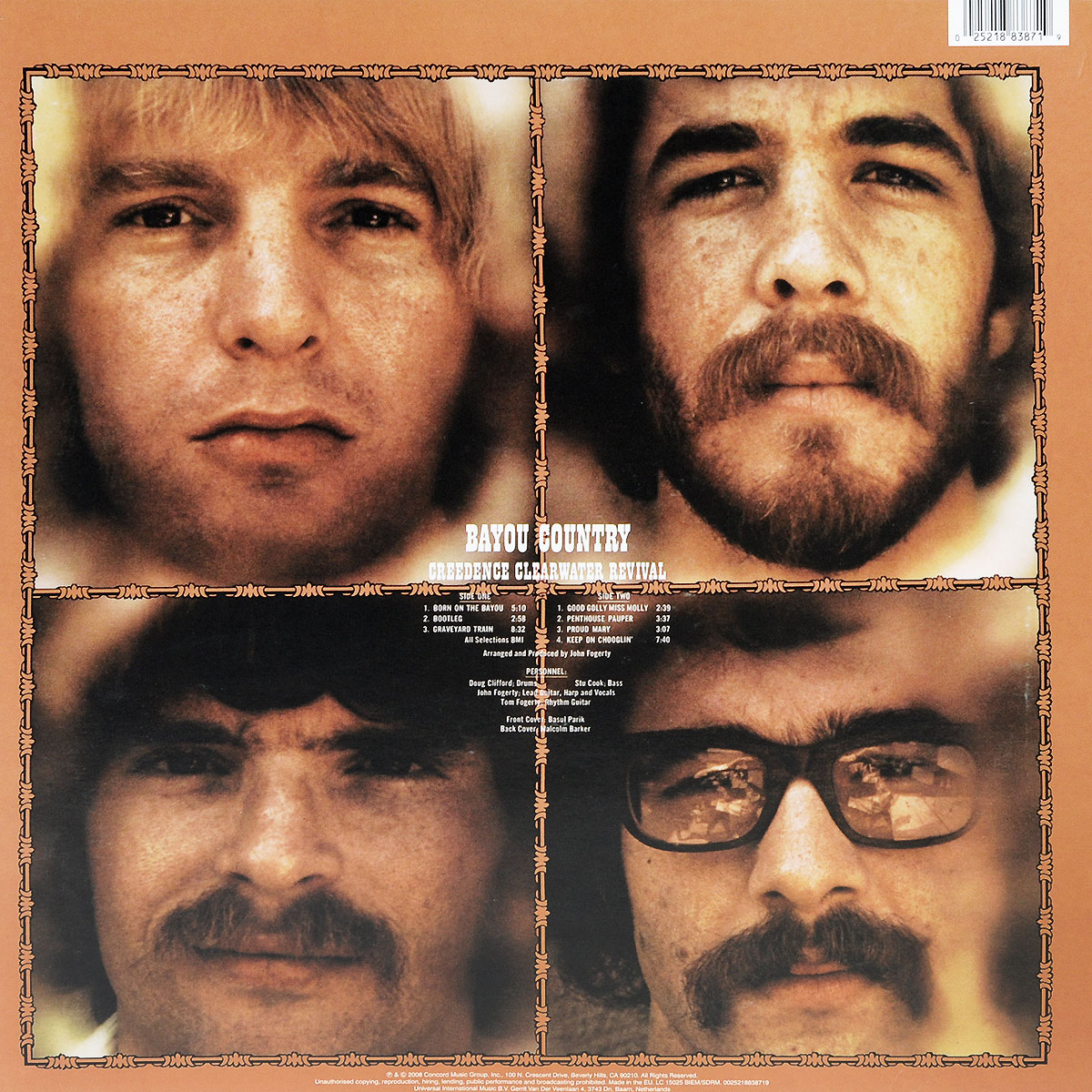 Creedence Clearwater Revival.  Bayou Country (LP) ООО