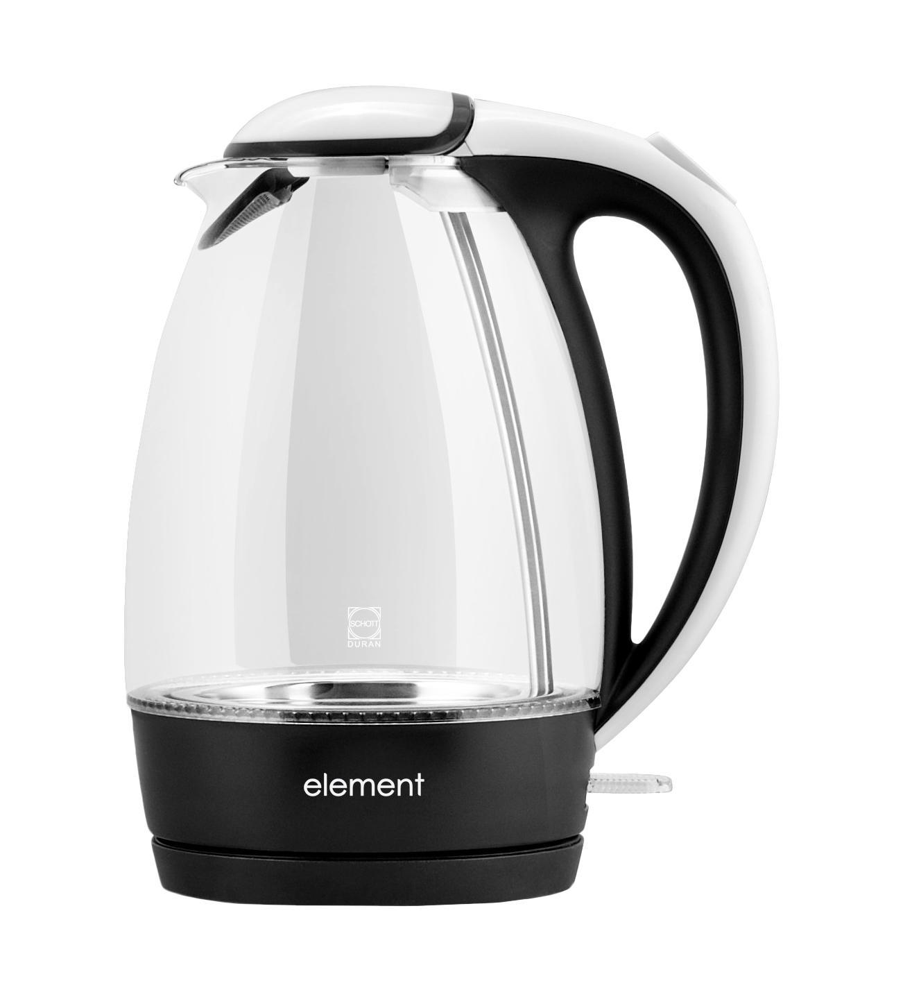 Element WF02GW, White Black электрочайник футболка element made to endure ss r black