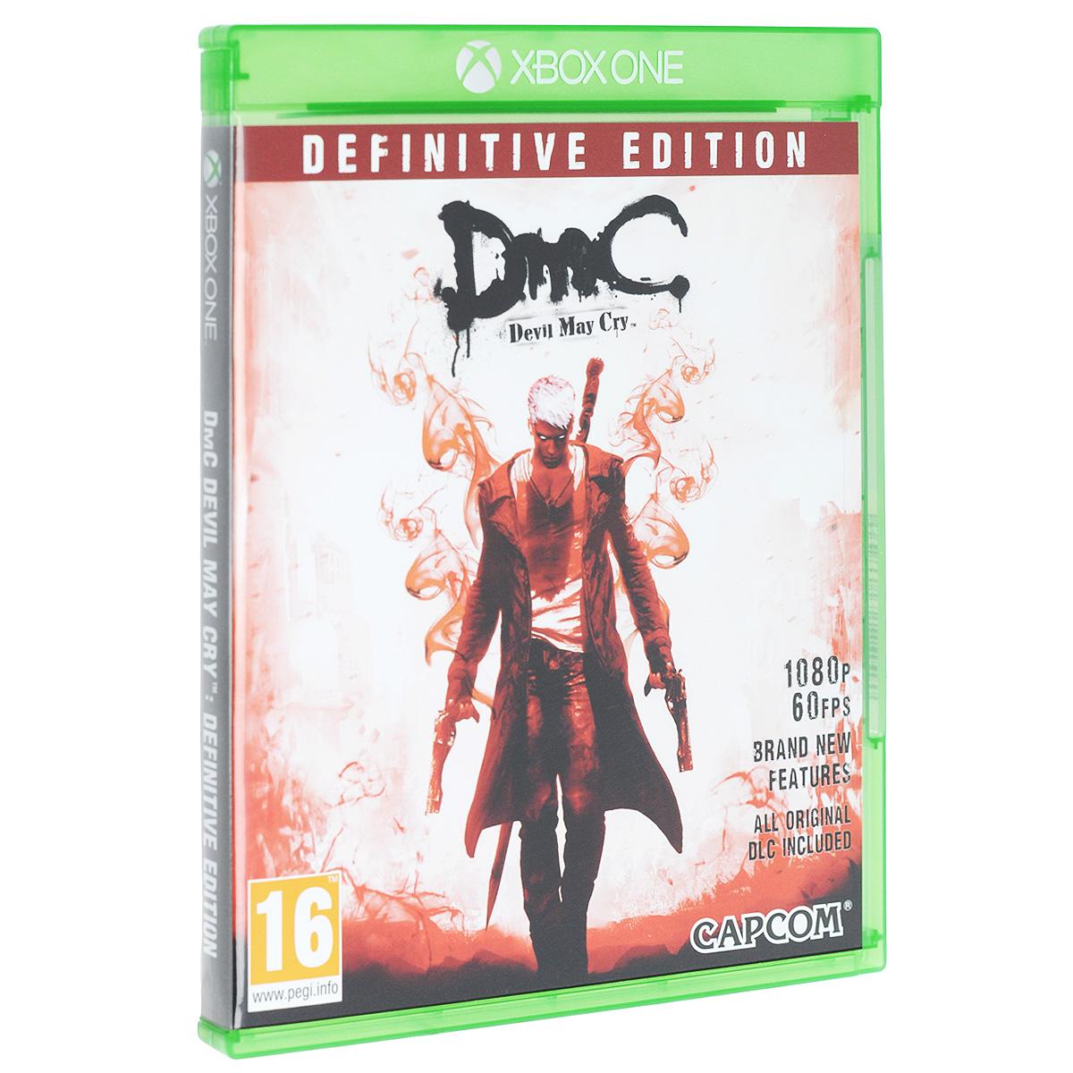 DmC Devil May Cry. Definitive Edition (Xbox One) dmc devil may cry definitive edition игра для xbox one