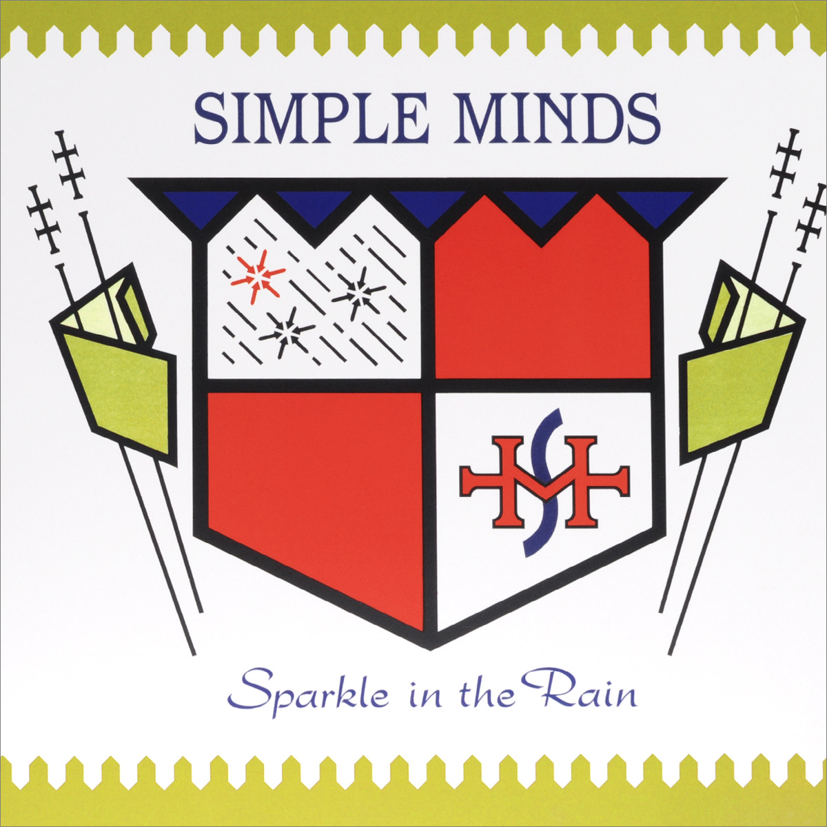 Simple Minds Simple Minds Sparkle In The Rain(LP) simple minds newark