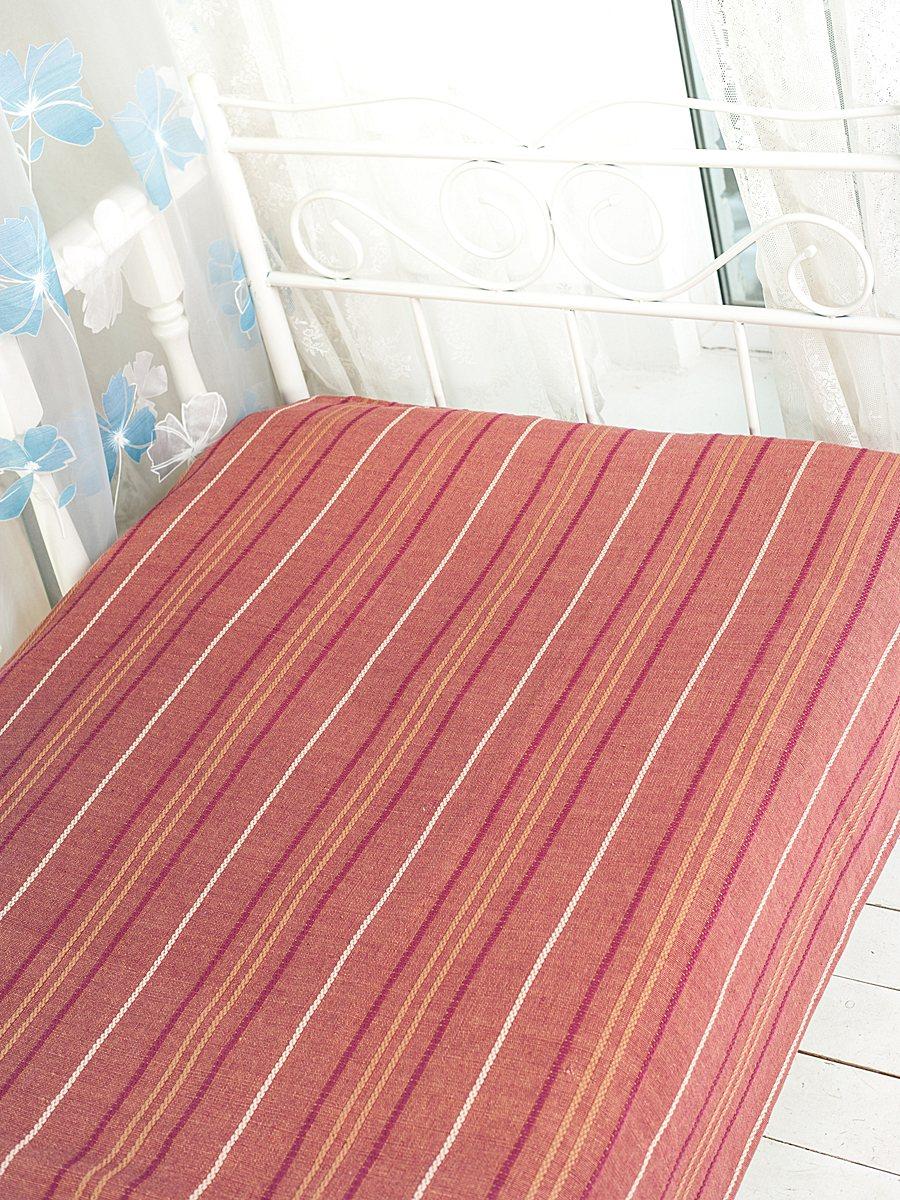 Покрывало Arloni Стокгольм, цвет: бордо, 200 х 240 см2042.1Покрывало Arloni Стокгольм прекрасно оформит интерьер гостиной или спальни. Изготовлено из экологически чистого материала - 100% хлопка, поэтому подходит как для взрослых, так и для детей. Натуральные краски абсолютно гипоаллергенны. Покрывало однотонное, оформлено вышивкой в виде разноцветных полосок. Хорошо смотрится и на диване, и на большой кровати. Покрывало Arloni не только подарит тепло, но и гармонично впишется в интерьер вашего дома.