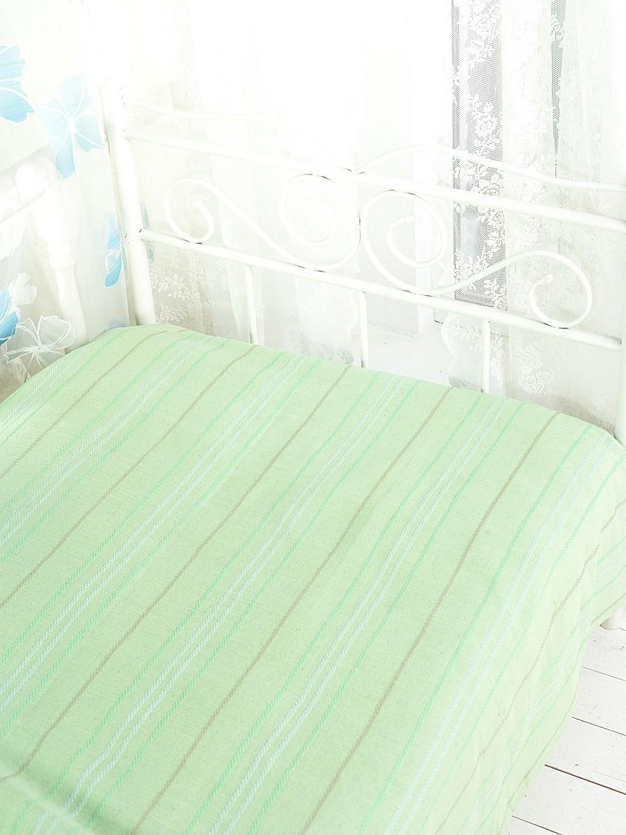 Покрывало Arloni Стокгольм, цвет: фисташка, 200 х 240 см2042Покрывало Arloni Стокгольм прекрасно оформит интерьер гостиной или спальни. Изготовлено из экологически чистого материала - 100% хлопка, поэтому подходит как для взрослых, так и для детей. Натуральные краски абсолютно гипоаллергенны. Покрывало однотонное, оформлено вышивкой в виде разноцветных полосок. Хорошо смотрится и на диване, и на большой кровати. Покрывало Arloni не только подарит тепло, но и гармонично впишется в интерьер вашего дома.