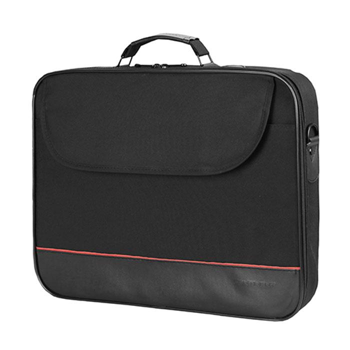 Continent CC-100 BK сумка для ноутбука 15,6CC-100 BKСумка Continent CC-100 выполнена в классическом стиле. Помимо ноутбука с диагональю экрана 15 дюймов, в ней может поместиться множество необходимых вещей. Например, в дополнительное внешнее отделение можно положить журналы или документы, а в другие отделения - канцелярские принадлежности. Сумка оснащена плечевым ремнем, поэтому ее удобно носить не только в руке, но и на плече.