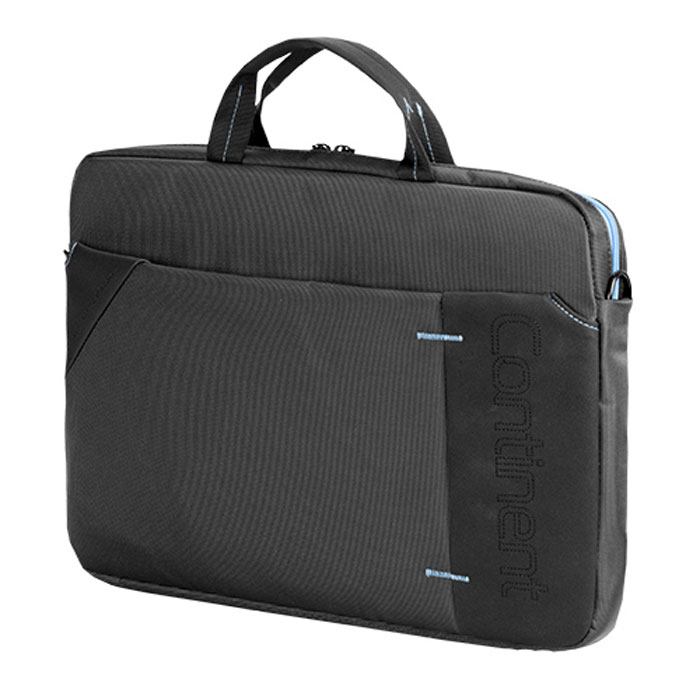 Continent CC-205, Grey Blue сумка для ноутбука 15,6CC-205 GBContinent CC-205 - эргономичная сумка для ноутбука. Помимо ноутбука с диагональю экрана 15 дюймов, в ней может поместиться множество необходимых вещей: журналы, аксессуары, документы, и канцелярские принадлежности. Сумка оснащена плечевым ремнем, поэтому ее удобно носить не только в руке, но и на плече.