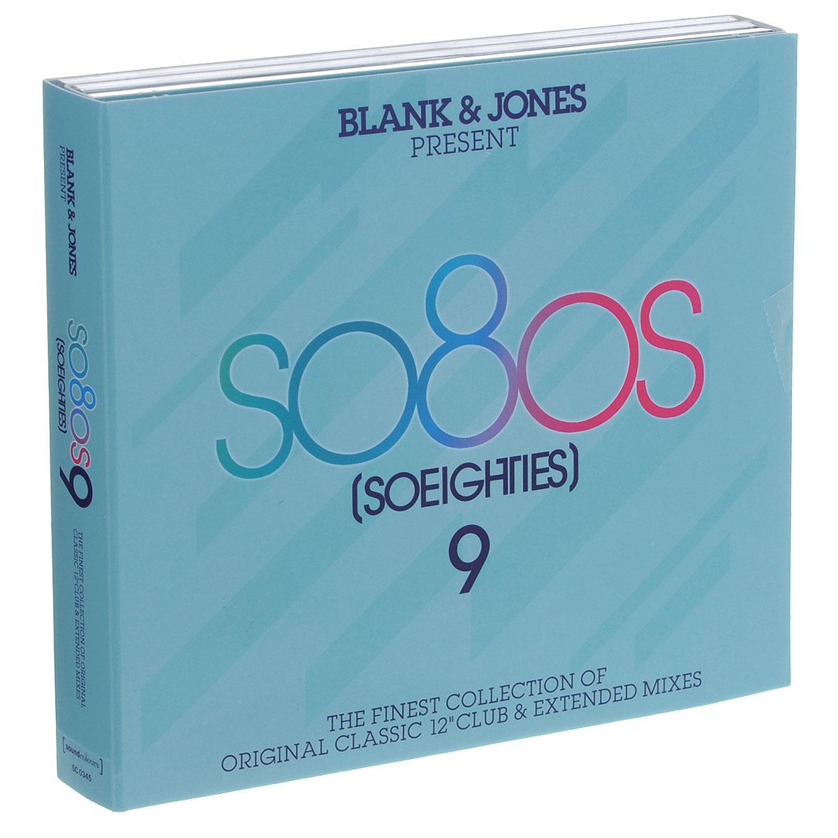 Blank & Jones. So80's (So Eighties) 9 (3 CD) 9 cd