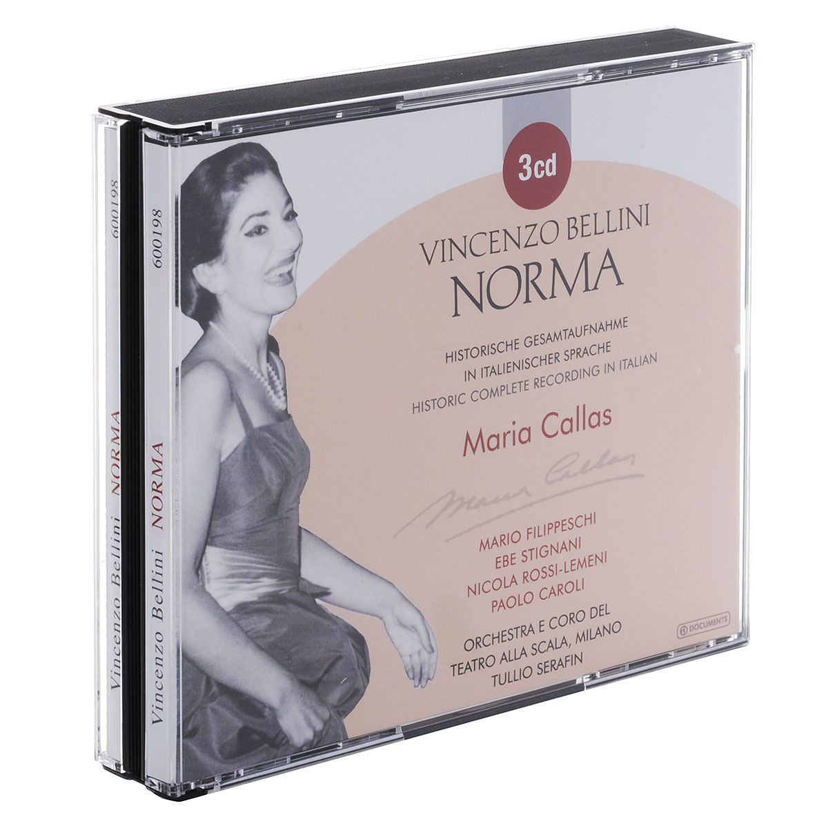 Мария Каллас Maria Callas. Vincenzo Bellini. Norma (3 CD)