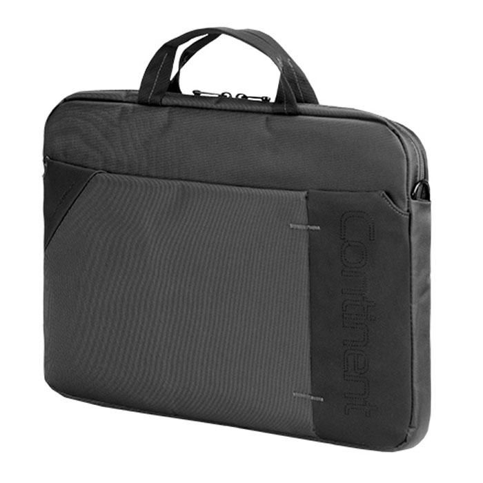 "Continent CC-205, Grey сумка для ноутбука 15,6"""