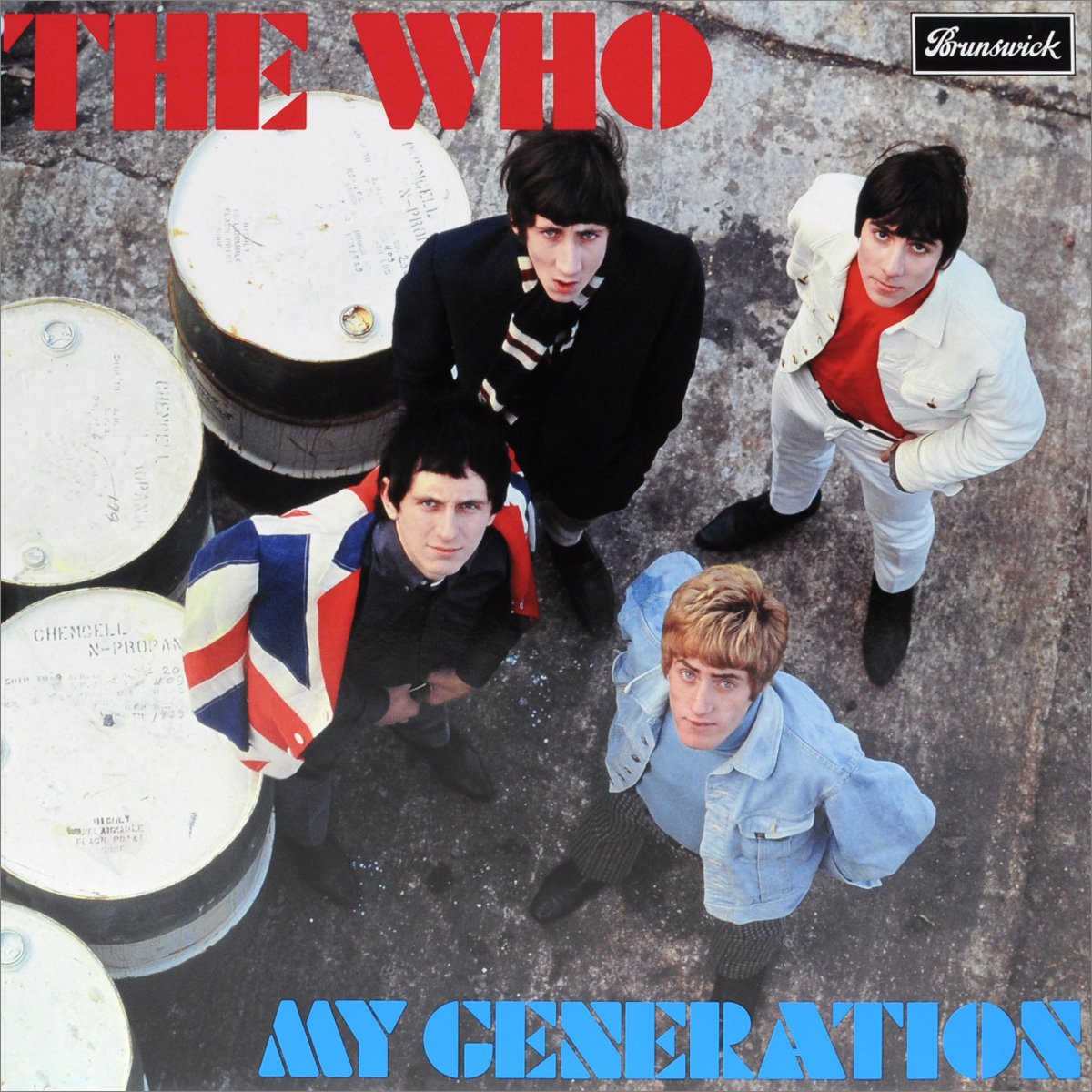 The Who The Who. My Generation (LP) the who the who my generation