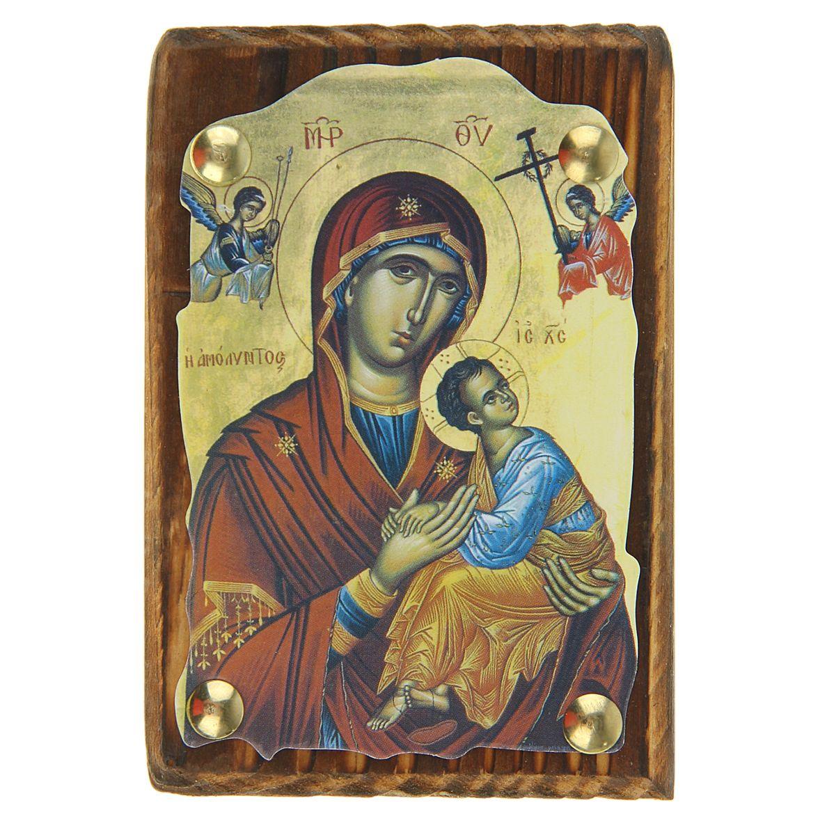 Икона Пресвятая Богородица, 7,5 см х 11 см икона пресвятая богородица 10 5 см х 14 5 см