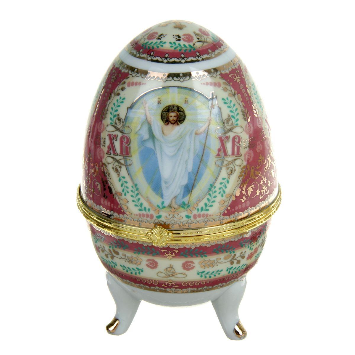 Яйцо-шкатулка Sima-land Воскресение Христово, высота 12 см воскресение бога воплощенного