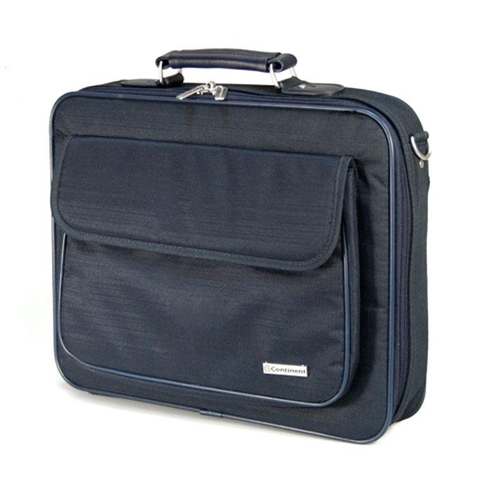 Continent CC-03, Navy сумка для ноутбука 15,6CC-03 NavyContinent CC-03 - строгая и удобная сумка для переноски и защиты ноутбука.Благодаря своим полноформатным размерам сумка просто незаменима для деловых людей - столько в ней отделений для бумаг и документов. А благодаря своей стильной элегантной форме и цветовым решениям - будет интересна молодым и энергичным людям. Если Вы возите ноутбук с собой на работу, в путешествия, или просто часто берете его с собой, то на своем опыте убедились, что сумка для ноутбука просто необходима.