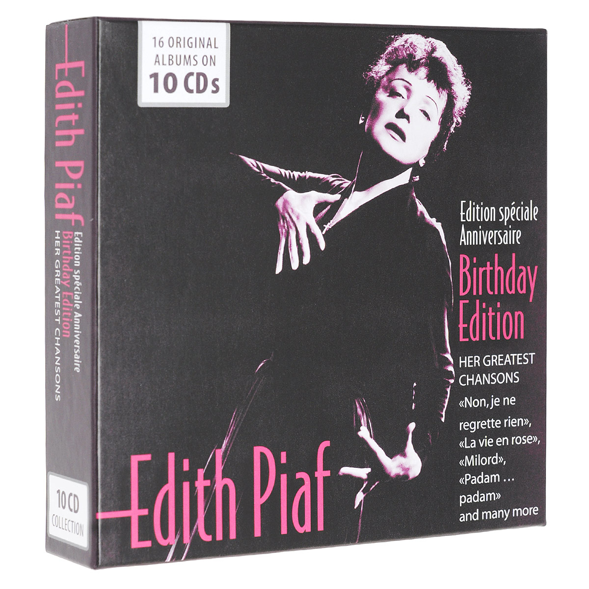 Эдит Пиаф Edith Piaf. Her Greatest Chansons. Birthday Edition. Edition Speciale Anniversaire (10 CD) эдит пиаф edith piaf fais moi valser 2 cd