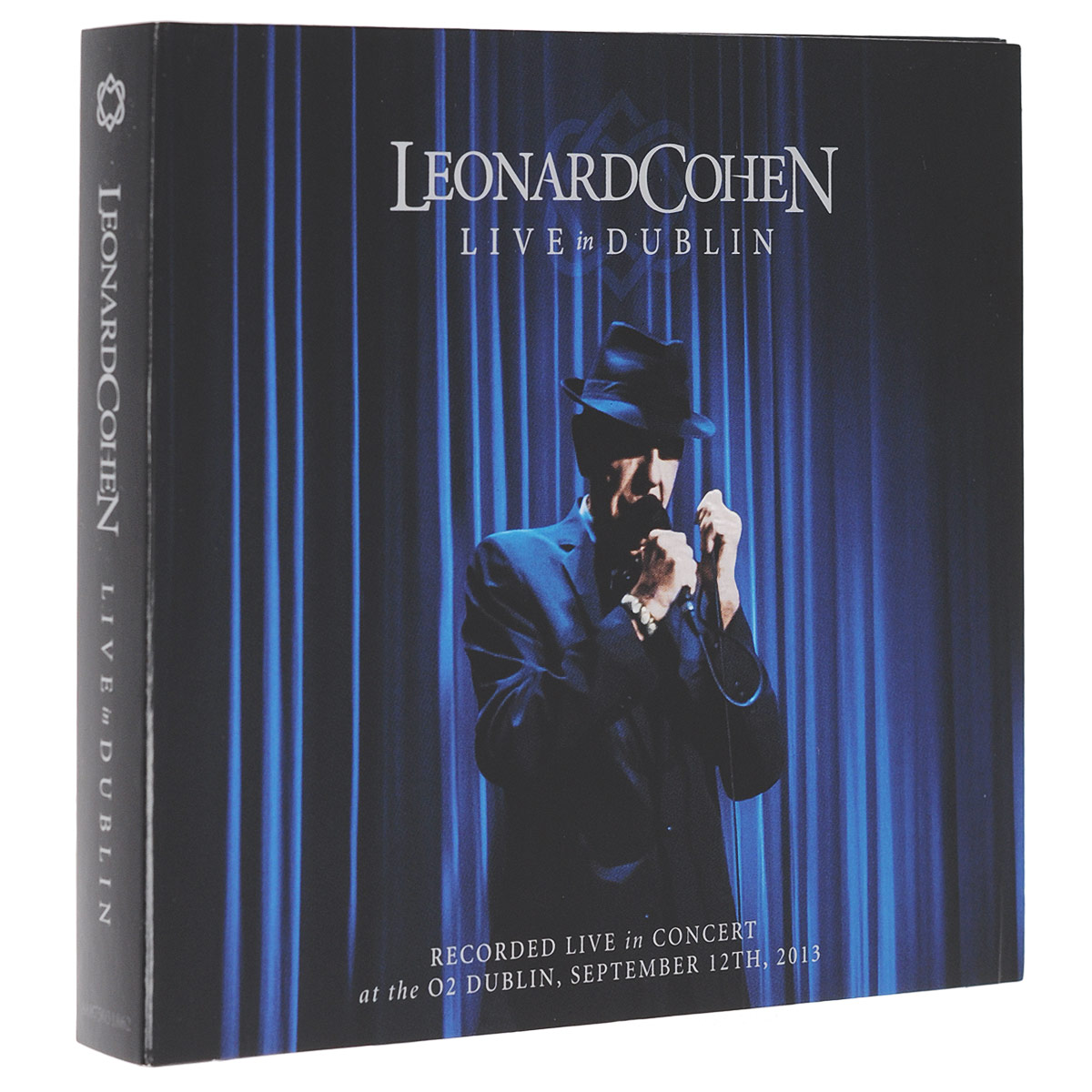 Леонард Коэн Leonard Cohen. Live In Dublin (3 CD) redroom 2019 02 01t20 00