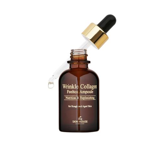 The Skin House Сыворотка ампульная с коллагеном, 30 млУТ000001261Ампульная сыворотка интенсивно питает кожу, делает ее эластичной и способствует ее восстановлению. Содержит такой лекарственный компонент, как экстракт гриба санхван, который делает кожу эластичной и устраняет стянутость сухой кожи, а так же аденозин, известный своим антивозрастным свойством. Сыворотка быстро впитывается, доставляя питательные компоненты глубоко в кожу, а так же не оставляет ощущения липкости.
