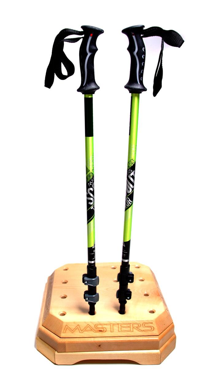 Палки для трекинга Masters  Scout Tour Green , телескопические, 69-140 см - Палки для трекинга