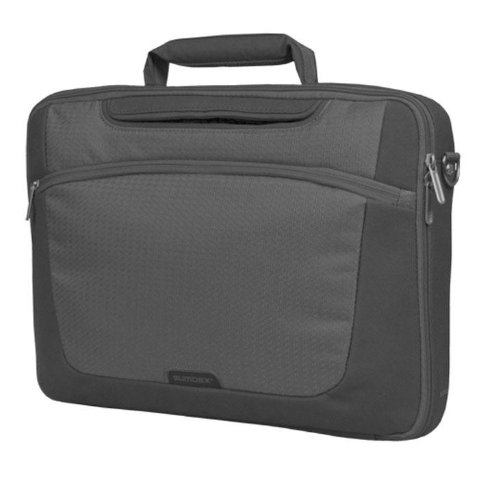 Sumdex PON-301, Grey сумка для ноутбука 15,6 sentance sumdex 11 дюймовый apple macbook air компьютер рукав полностью открыт царапина pon 871bc синий камуфляж