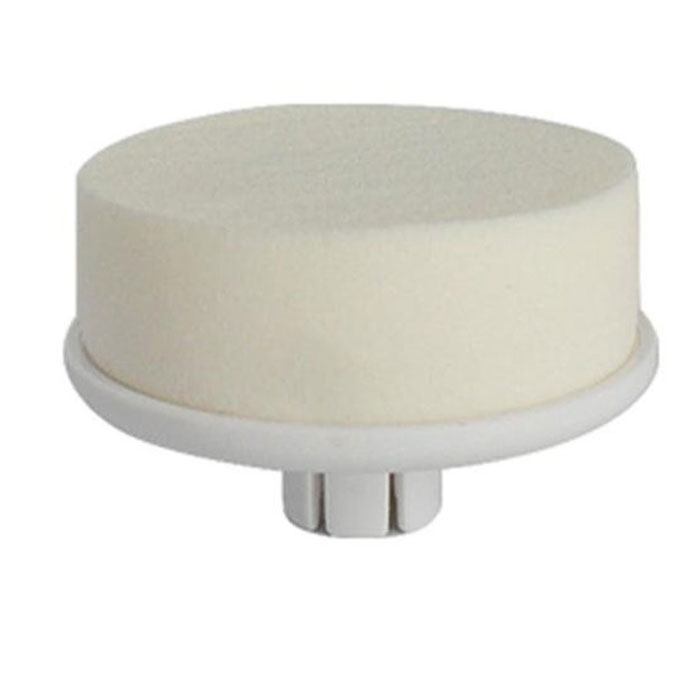 Touchbeauty Запасная щетка к приборам для очищения кожи при умывании AC-07595AC-07595Специальная губка Touchbeauty AC-07595 для равномерного нанесения обычного или тонального крема. С помощью этой насадки Высэкономите время и косметические средства, т.к. крем наносится тонким слоем и быстро впитывается. Используется вместе с приборами для очищения серий AS-0759.
