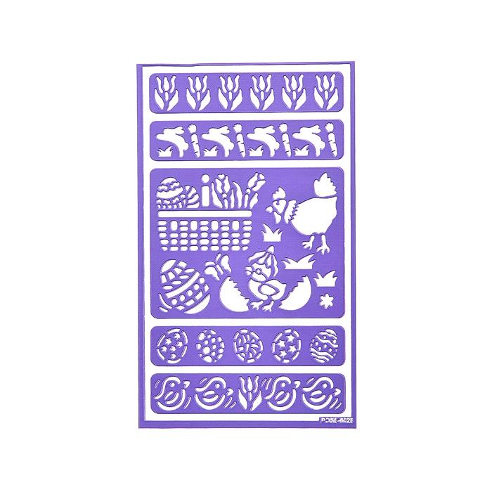 Трафарет для декорирования яиц Home Queen Пасха, 9 х 15 см64522Трафарет Home Queen Пасха прекрасно подойдет для декорирования пасхальных яиц. Его также можно использовать для нанесения декоративного рисунка на посуду, изделия из стекла, металла, керамики, поздравительые открытки и прочее. Трафарет выполнен из ПВХ и рассчитан на 20 применений.Такой трафарет украшений создаст атмосферу праздника в вашем доме. УВАЖАЕМЫЕ КЛИЕНТЫ! Обращаем ваше внимание на возможные изменения в деталях рисунка. Поставка осуществляется в зависимости от наличия на складе.