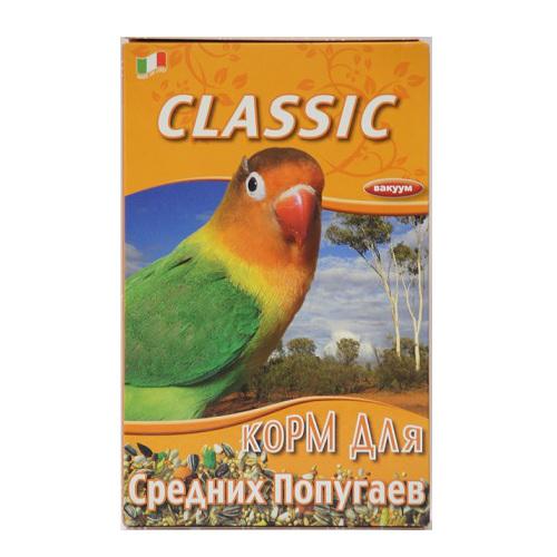 Корм для средних попугаев Fiory Classic, 650 г fiory 6200