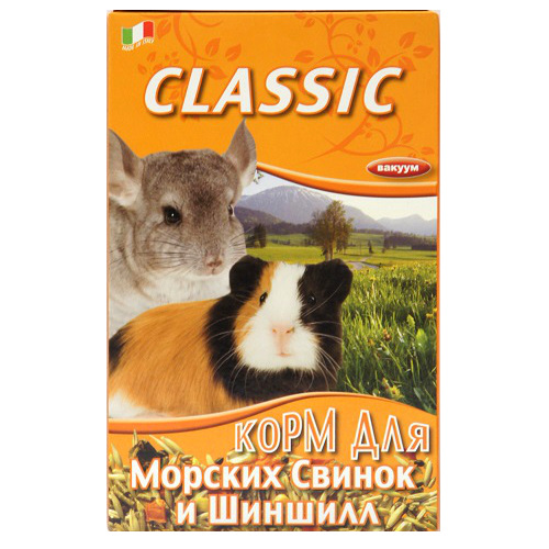 Корм Fiory Classic для морских свинок и шиншилл, 680 г корм для животных triol корм для шиншилл и кроликов