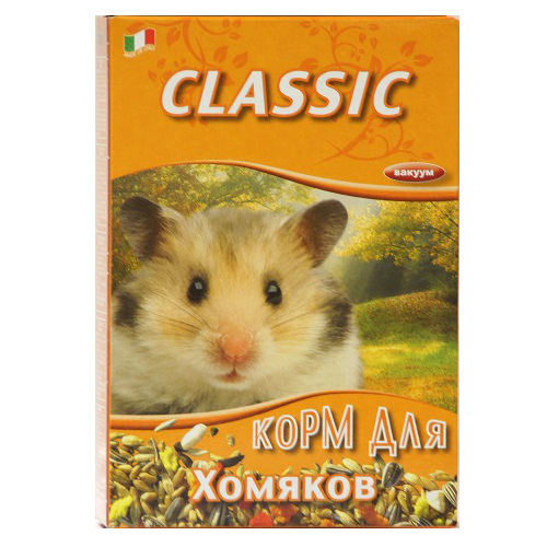Корм для хомяков Fiory Classic, 400 г корм флатазор купить в ульяновске