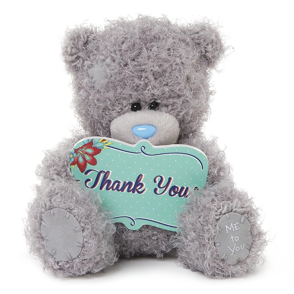 Me to You Мягкая игрушка Мишка Тедди: Спасибо тебе, 13 см me before you