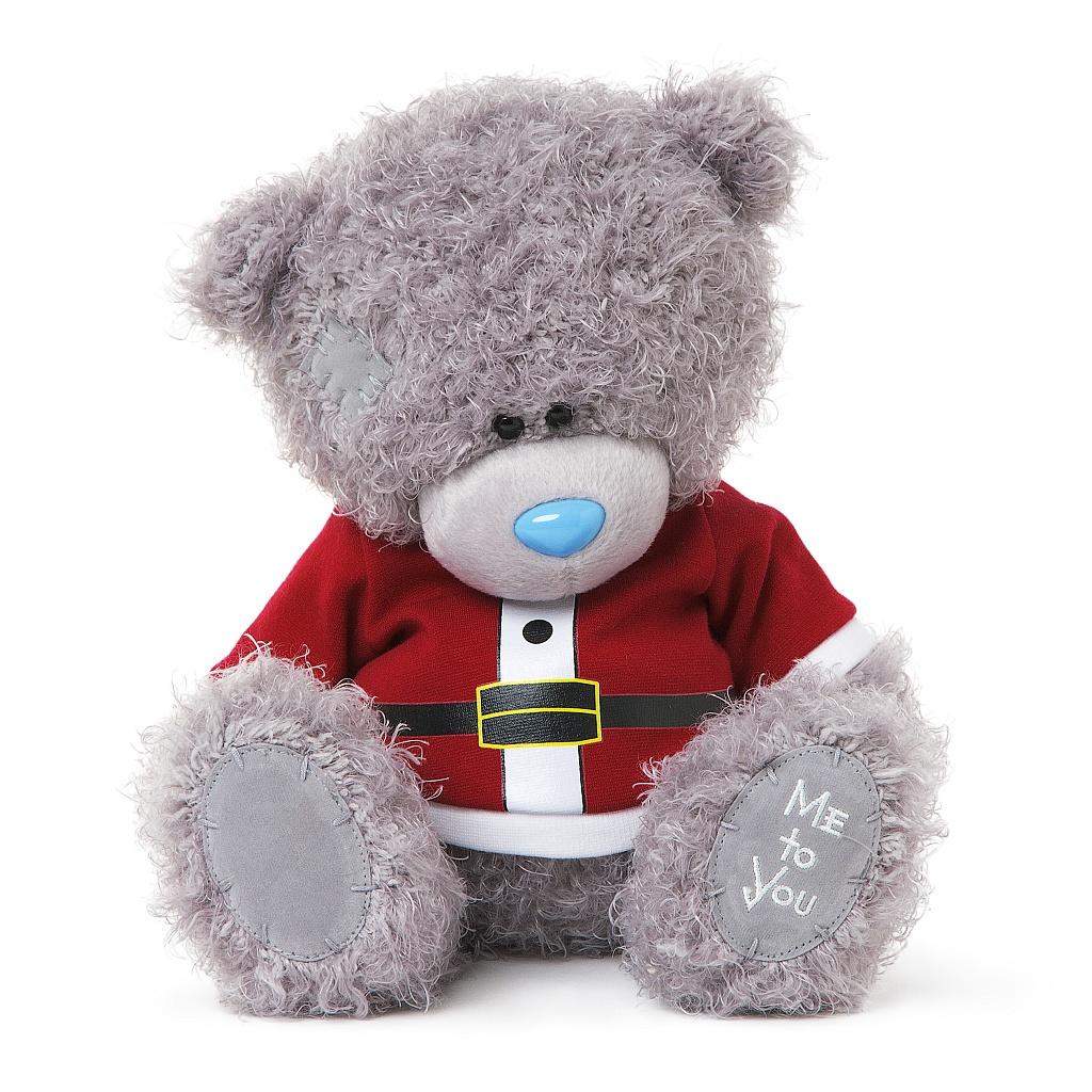 Me to You Мягкая игрушка Мишка Тедди: Санта, 23 см мягкая игрушка брелок me to you мишка тедди 7 5 см
