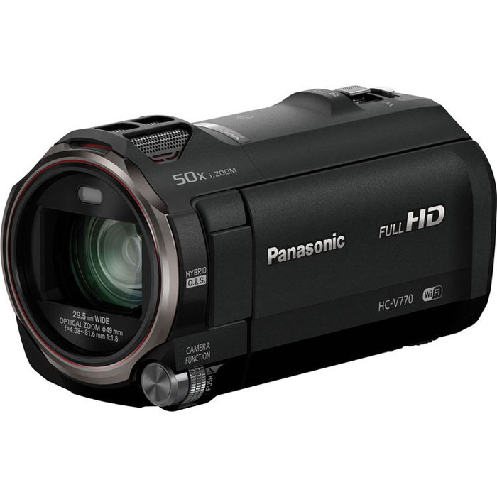Zakazat.ru Panasonic HC-V770, Black цифровая видеокамера