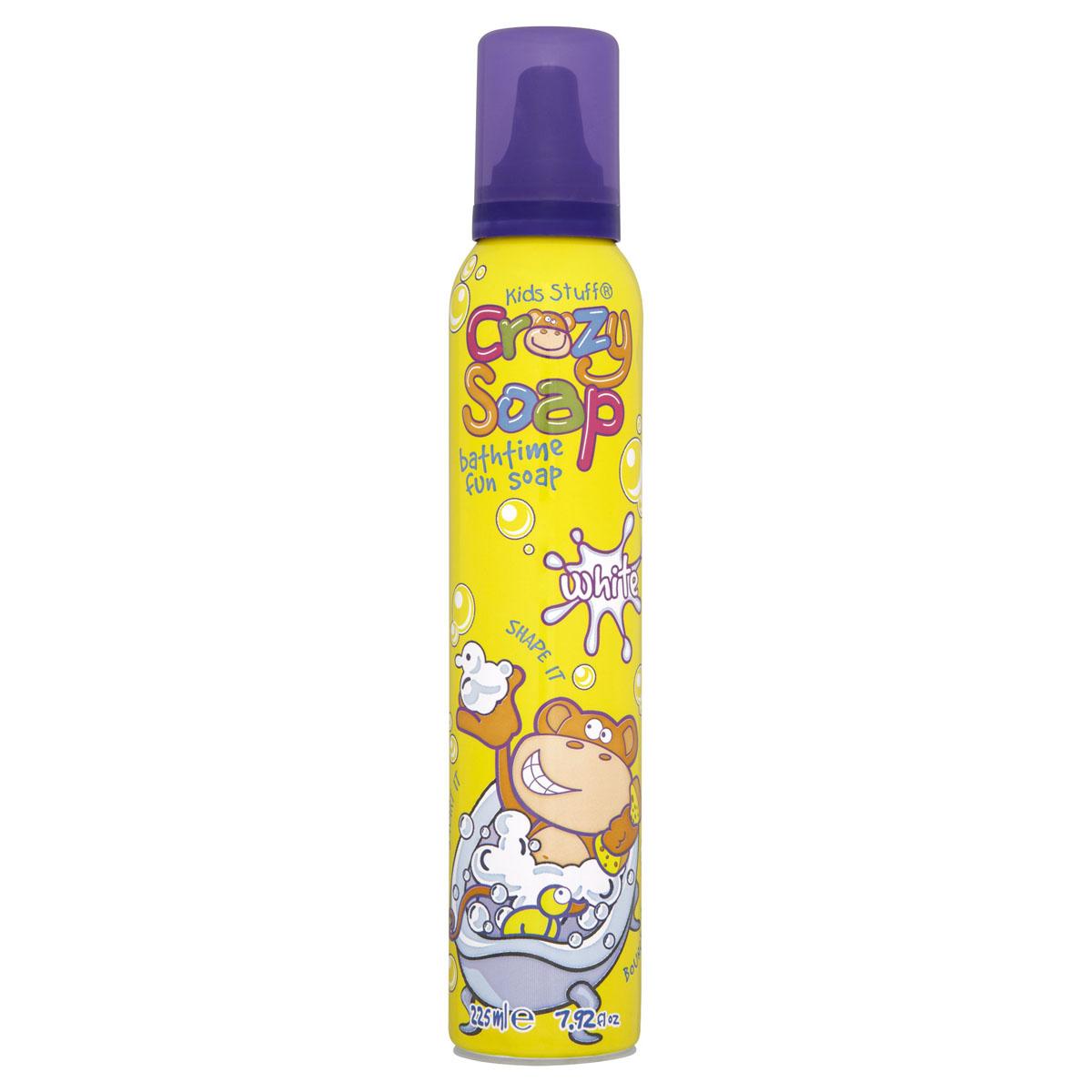 Kids Stuff Мусс-пена, для детских забав и купания в ванной, белая, 225 мл -  Все для купания
