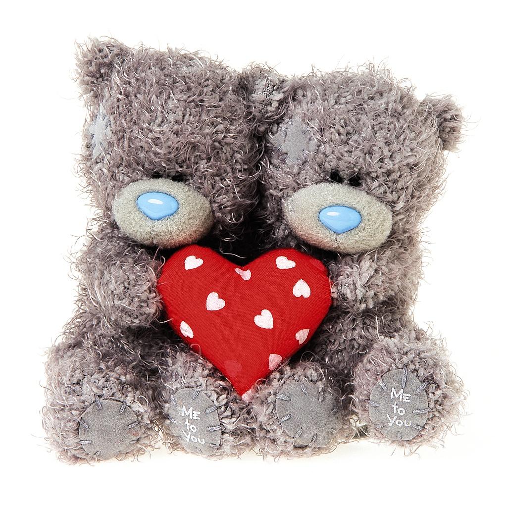 Me to You Мягкая игрушка Мишка Тедди с сердцем 10 см 2 шт me before you