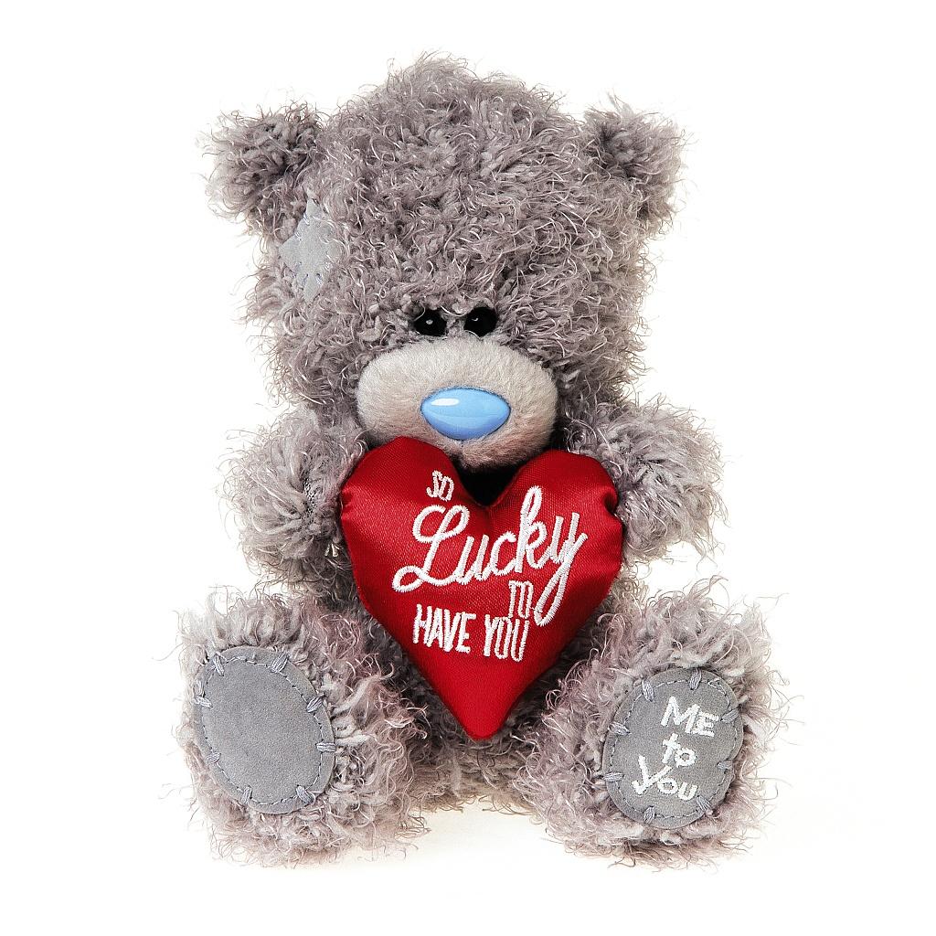 Me to You Мягкая игрушка Мишка Тедди с сердцем 18 см гирлянда растяжка с подвеской me to you мишка тедди 300 см