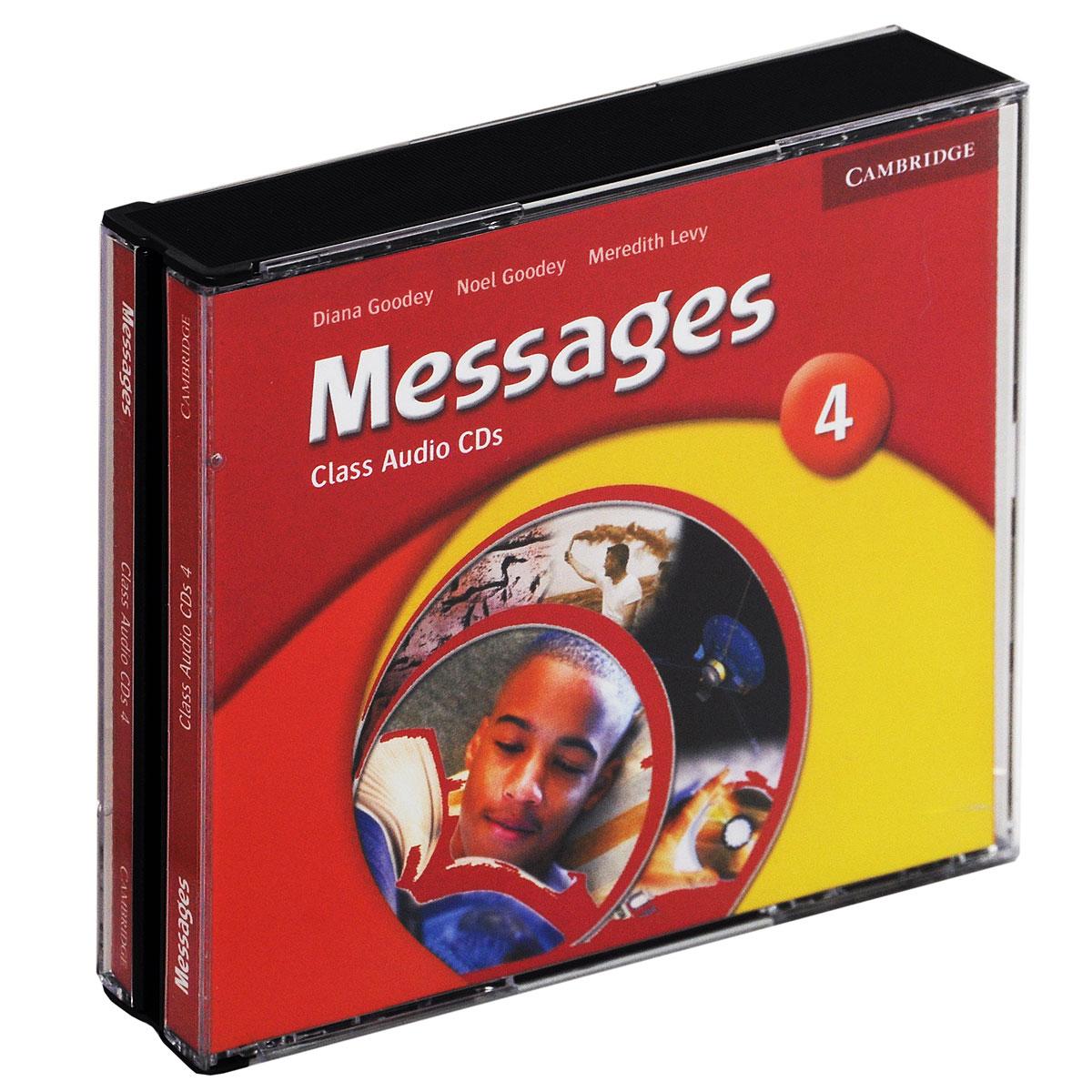 Messages 4: Class CDs (аудиокурс на 3 CD) islands level 2 class audio cds аудиокурс на 4 cd