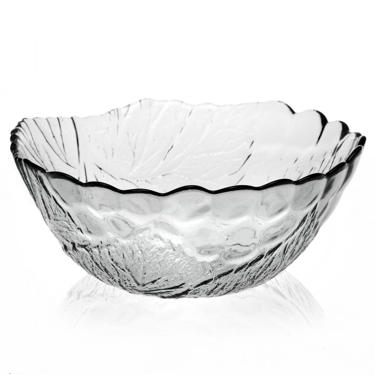 """Салатник Pasabahce """"Sultana"""", выполненный из прозрачного высококачественного натрий-кальций-силикатного стекла, предназначен для красивой сервировки различных блюд. Внешние стенки салатника имеют рифленую поверхность. Салатник сочетает в себе изысканный дизайн с максимальной функциональностью.  Оригинальность оформления придется по вкусу и ценителям классики, и тем, кто предпочитает утонченность и изящность.  Можно использовать в холодильной камере, микроволновой печи и мыть в посудомоечной машине.  Диаметр салатника: 22,5 см. Высота салатника: 9,5 см."""