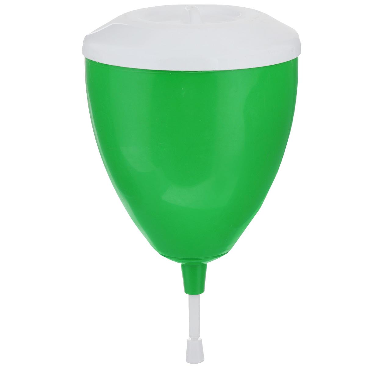 """Рукомойник """"Альтернатива"""" изготовлен из пластика. Он предназначен для  умывания в саду или на даче. Яркий и красочный, он отлично впишется в  окружающую обстановку. Петли обеспечивают вертикальное крепление  рукомойника. Рукомойник оснащен крышкой, которая предотвращает попадание  мусора.  Рукомойник """"Альтернатива"""" надежный и удобный в использовании. Диаметр рукомойника: 19 см.  Высота рукомойника (с учетом крышки): 23 см."""