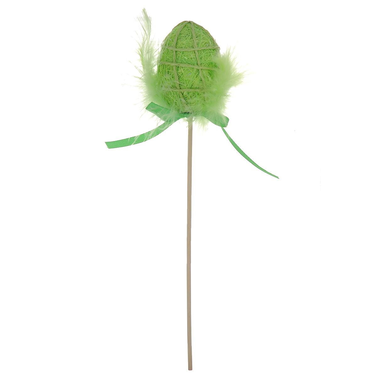 Декоративное пасхальное украшение на ножке Home Queen Яйцо с пухом. Разноцвет, цвет: зеленый, высота 25 см64387_1Декоративное украшение Home Queen Яйцо с пухом. Разноцвет выполнено из полиэстера в виде пасхального яйца на деревянной ножке, декорированного перьями. Изделие украшено текстильной лентой.Такое украшение прекрасно дополнит подарок для друзей или близких на Пасху.Высота: 25 см. Размер яйца: 6 см х 4,5 см.