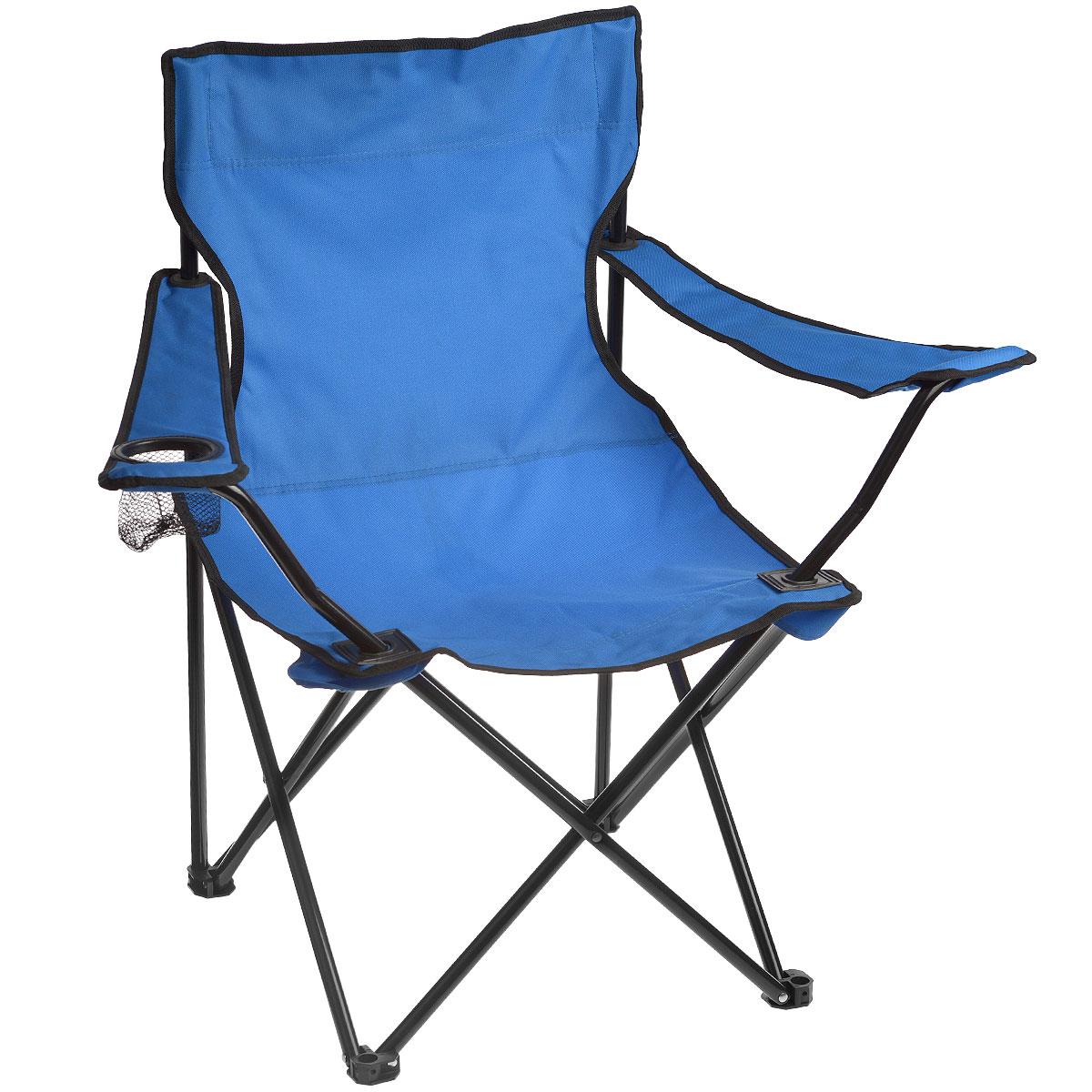 Кресло складное Happy CamperЛК-705Кресло складное Happy Camper - это незаменимый предмет походной мебели, очень удобен в эксплуатации. Каркас кресла изготовлен из стали с порошковым покрытием.Кресло легко собирается и разбирается и не занимает много места, поэтому подходит для транспортировки и хранения дома.