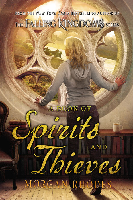 A Book of Spirits and Thieves the swan thieves