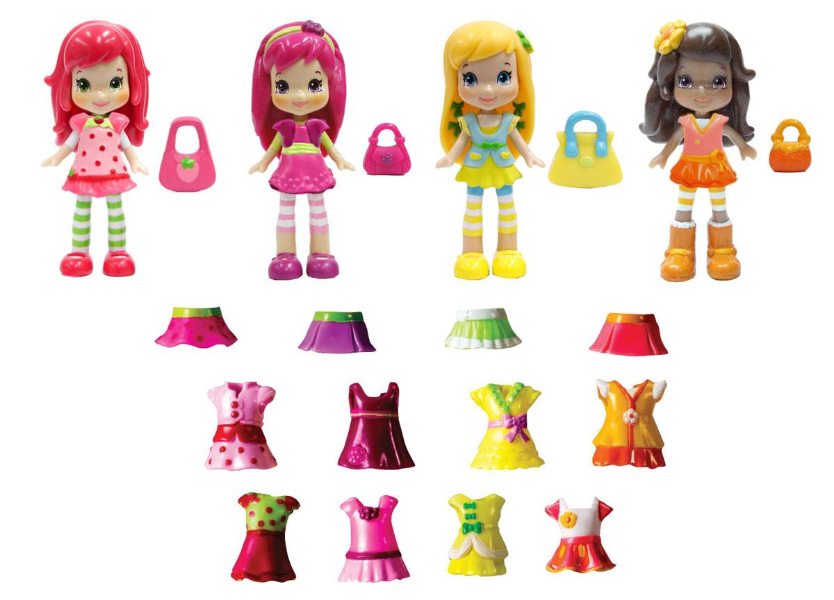 Шарлотта Земляничка Набор кукол Ягодные подружки 4 шт куклы и одежда для кукол bayer малышка первый поцелуй 42 см
